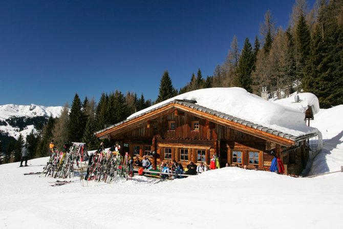 Gloneralm - Skihütte in Flachauwinkl-Zauchensee, Ski amadé